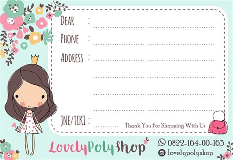 Sticker Label Pengiriman Onlineshop Shipping Label 13 shop shipping label design ipietoon design