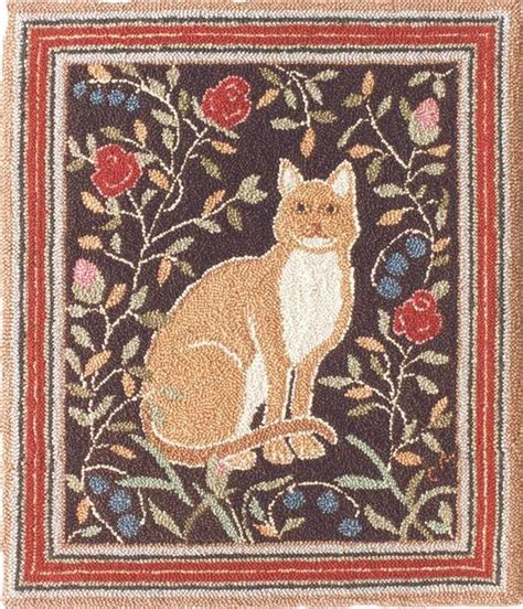 oxford rug hooking cat pattern the oxford company llc