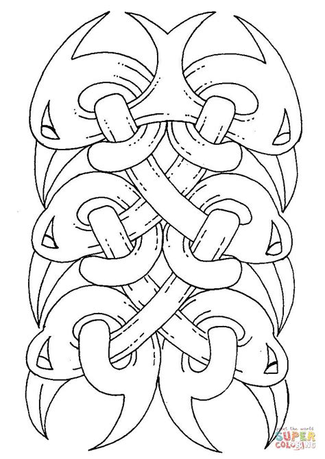 celtic coloring pages celtic design coloring page free printable coloring pages
