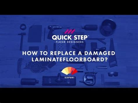 Quick Steps Tutorial Webucator - how to replace a damaged laminate board tutorial by