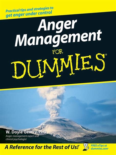 anger management prevention understanding resolution books anger management for dummies mental health