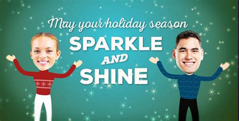 videohive christmas faces greeting 13556955 187 vector christmas faces greeting project for after effects