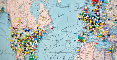 map of the world places i ve been another way to travel funding one step 4ward