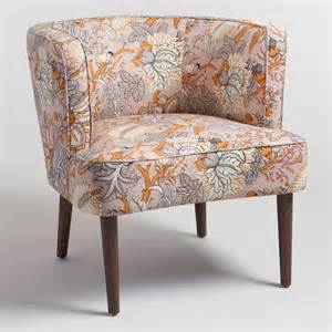 Upholstered Accent Chair Botanical Evelynn Upholstered Accent Chair World Market