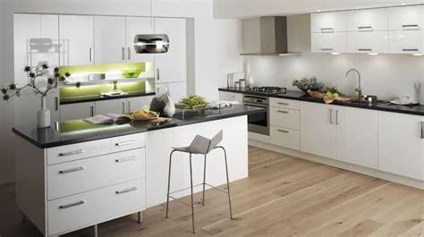 Technica Gloss White Kitchen   Fresh, Bright Kitchens with