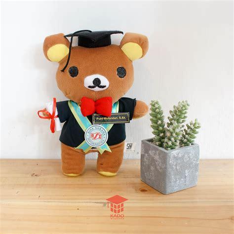 Boneka Wisuda Di Yogyakarta toko kado boneka wisuda rilakkuma jogja 0858 7874 9975