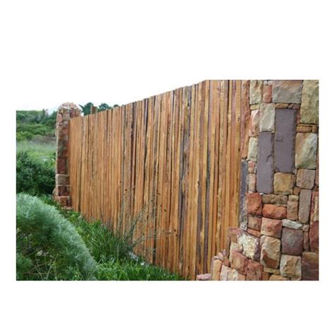 rustikaler holzzaun rustic timber fencing wooden fencing the pole yard