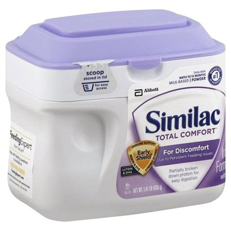 similac comfort similac total comfort infant formula powder 1 41 lb