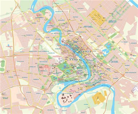 map bagdad map baghdad iraq maps and directions at map