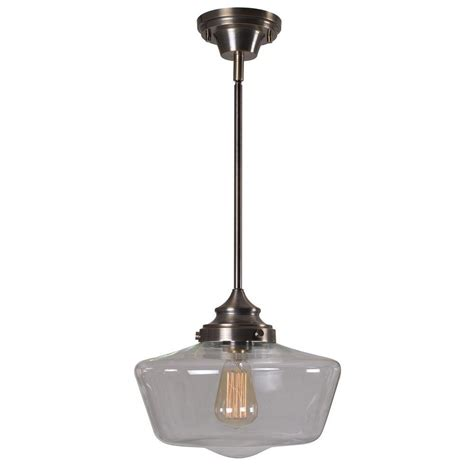 kenroy home cambridge 1 light aged metal pendant 93661agm