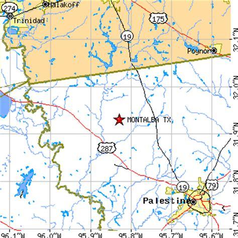 larue texas map montalba texas tx population data races housing economy