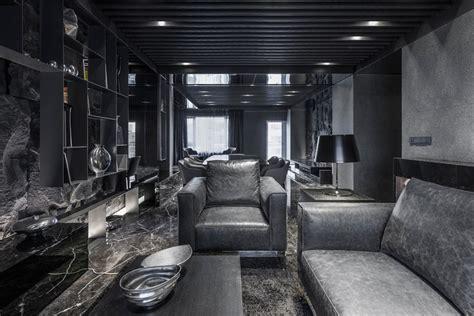 Black Appliances Kitchen Ideas daring monochromatic interior scheme quot home in black
