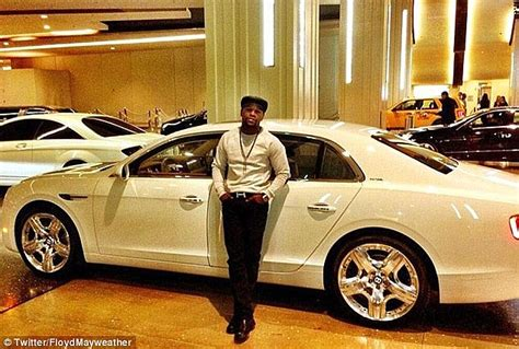 Mayweather pictured here in 2013 with one of his bentleys has bought