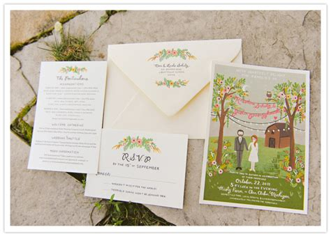 wedding invitations michigan michigan farm wedding kristine justin real weddings