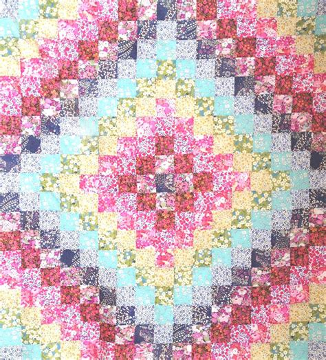 Trip Quilt Pattern by Liberty Trip Around The World Quilt Kit Caroline