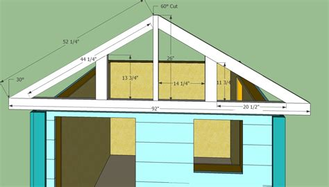 cupola design wooden playhouse plans howtospecialist how to build