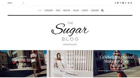 theme blog fashion wordpress 30 elegant fashion wordpress themes 2018