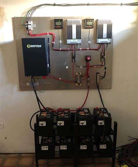 spartan power sp ic inverter charger setup  puerto rico