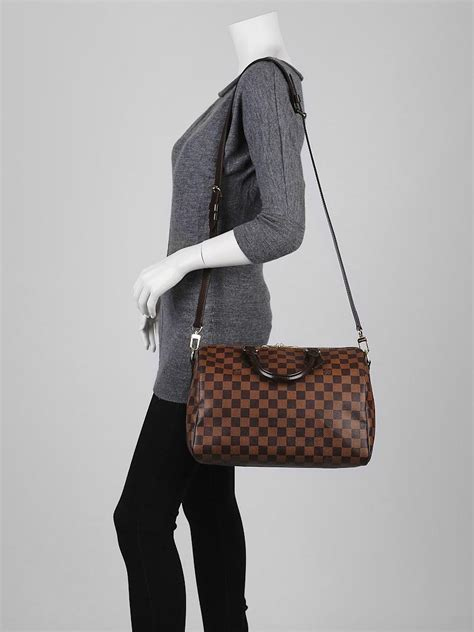 5 Reasons To Buy Louis Vuitton Speedy Bag by Louis Vuitton Damier Canvas Speedy 30 Bandouliere Bag
