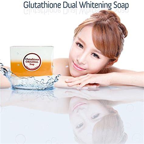 Kanza Soap Bar Whitening Mencerahkan 5 bars kojic acid glutathione dual whitening bleaching soap new ebay