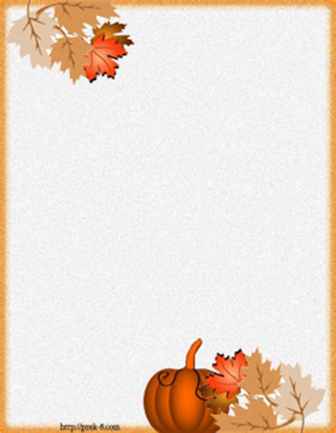 7 Best Images Of Free Printable Fall Borders Free Printable Fall Stationery Borders Free Fall Border Templates