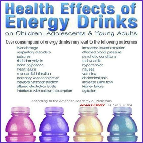 energy drink facts effect of energy drink facts for all you