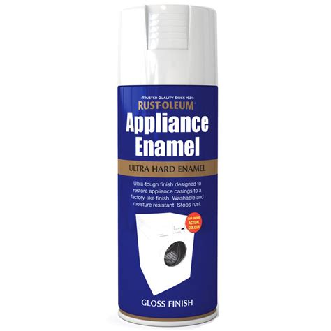 How To Spray Paint Metal L by Rust Oleum Appliance Enamel White Gloss Spray Paint