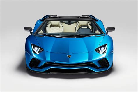 lamborghini aventador s roadster back lamborghini aventador s roadster at 2017 frankfurt motor show pictures prices specs by car