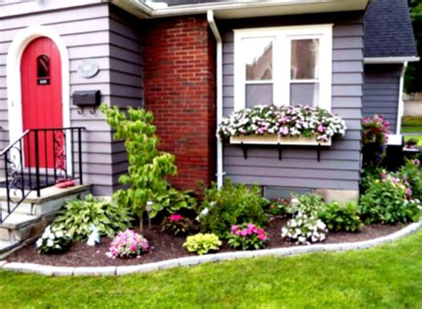 flowers in front of house modern home exteriors front yard landscape ideas the design landscaping for