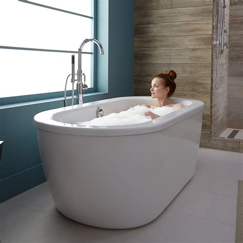 bathtub soaking depth bathtubs freestanding tubs american standard