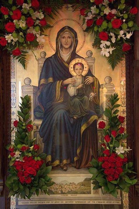 imagenes religiosas ortodoxas mejores 277 im 225 genes de iconos virgen mar 237 a en pinterest