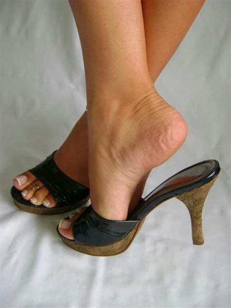 what high heels soles pin by walk in style on wearing mules iv