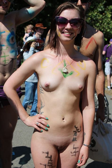 Public Nudity Project Fremont Solstice Parade