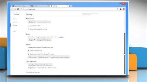 chrome pop up blocker how to disable google chrome pop up blocker on windows 174 8