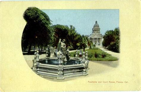 Fresno Court Records Postcards From Fresno County Ca