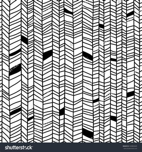 line shape pattern texture abstract seamless striped black white ink stock vector