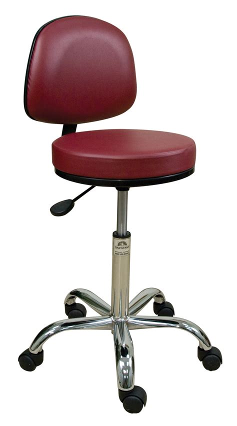 Wheeled Stools by Rolling Stool Rolling Stools Rolling Stool With Back