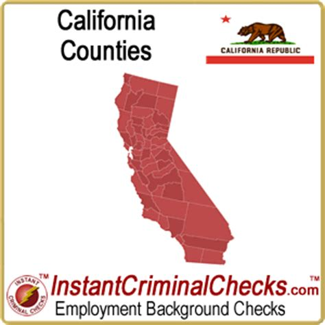 Criminal Background Check California California County Criminal Background Checks Ca Court