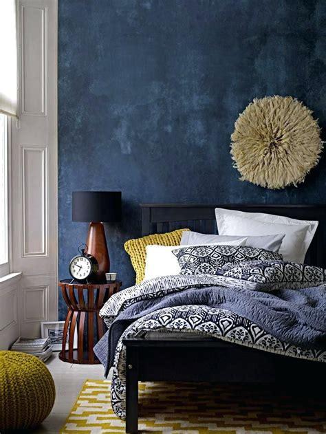 navy blue yellow  grey bedroom blue bedroom ideas