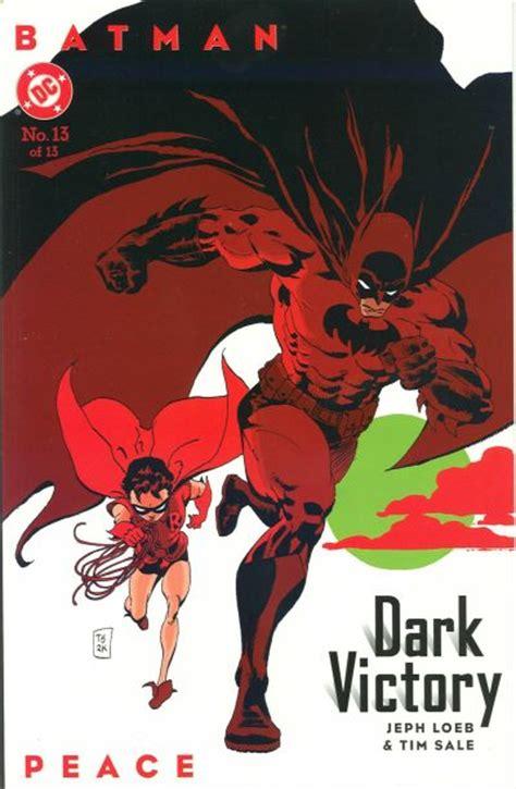 batman dark victory batman dark victory vol 1 13 dc comics database