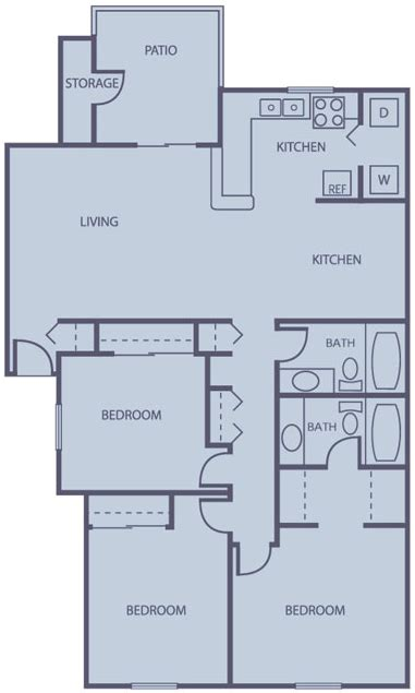 average square footage of a 3 bedroom apartment average square footage 2 bedroom apartment 28 images