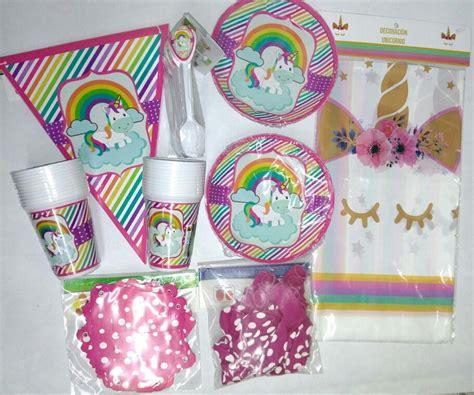 como decorar fiesta de unicornio unicornio decoraci 243 n para fiesta 58 000 en mercado libre