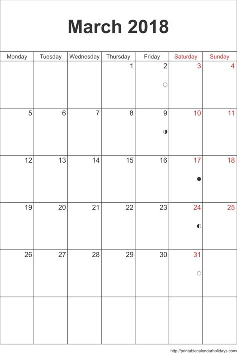 18 month calendar printable calendar template 2016