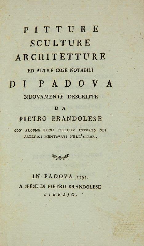 libreria zannoni orari brandolese pietro pitture sculture architetture ed altre