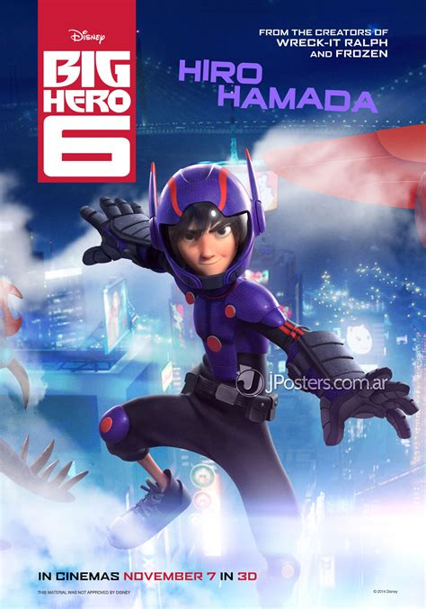 film disney hero new character posters for big hero 6