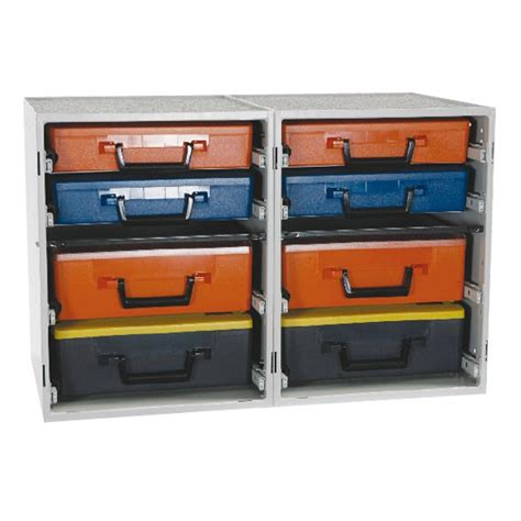 Cabinet Drawer Kits by Dual Drawer Cabinet Kit With Cases Storage Armstrong