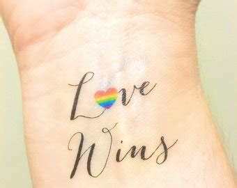 lesbian couple tattoos wedding favors etsy