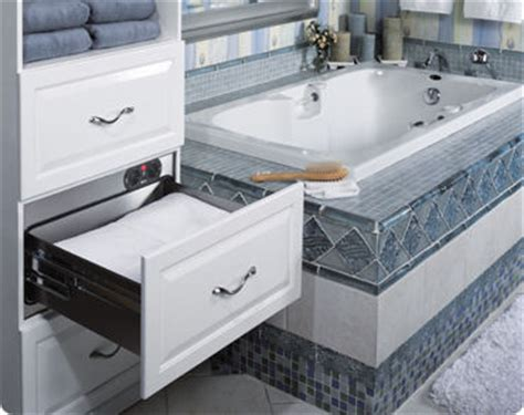 luxurious world towel warming drawer