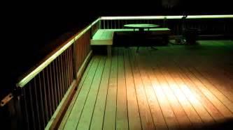 Handrail Lights Led Deck Lighting Youtube