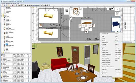 sweet home 3d screenshot and at snapfiles
